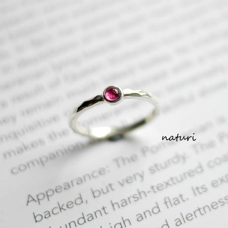 【tronc】sv925 tourmaline ring (order)