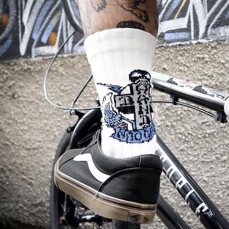 BH × NAUGHTY SKATE SOCKS