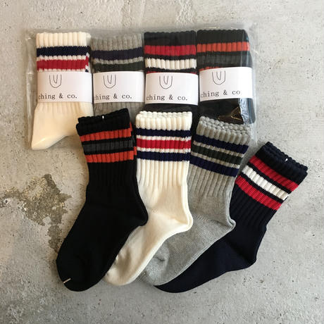 select / ching & co. SKATER SOCKS⑤