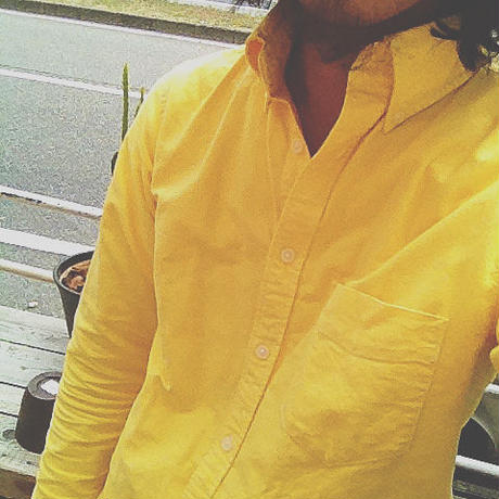 """California Yellow"" L/S B.D. SHIRTS"