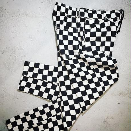 CHECKERED EASY PANTS