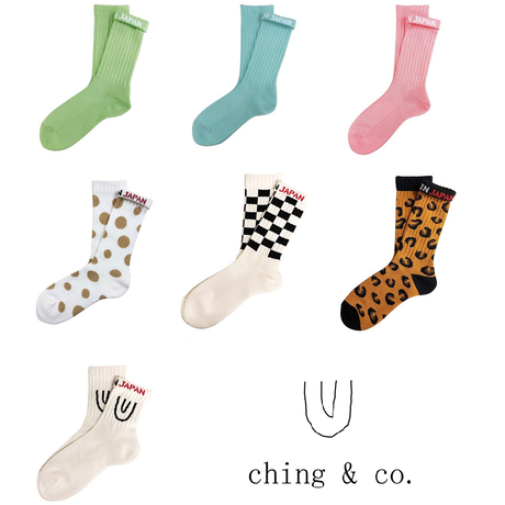 select / ching & co. SKATER SOCKS⑨