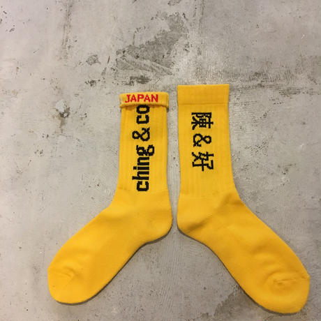 select / ching & co. SKATER SOCKS⑧
