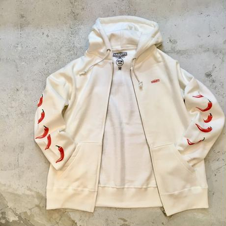 5CHILI PEPPERS ZIP UP HOODIE