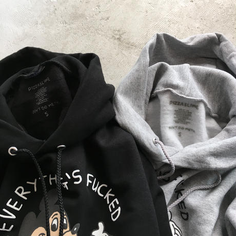 select/ PIZZA SLIME (EVERYTHING FUCKED HOODIE)