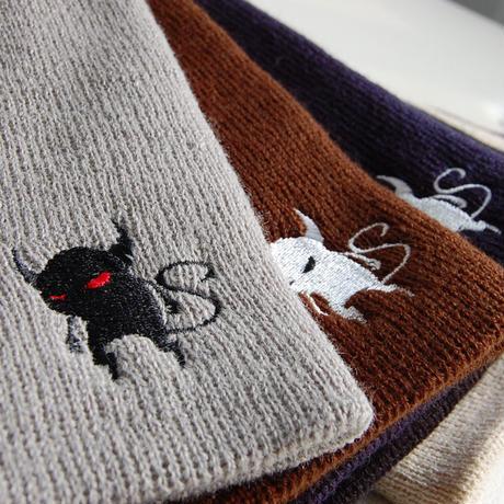 「BonesFreak」bonesfreak knit devil hat