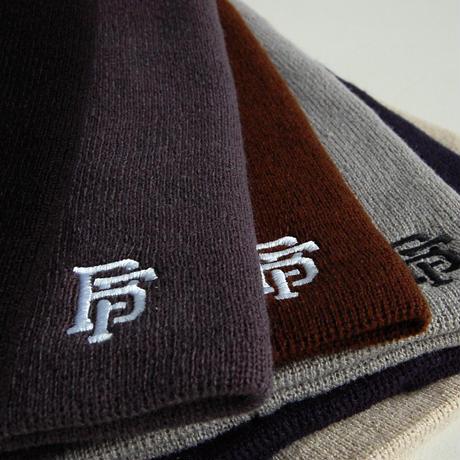 「BonesFreak」bonesfreak knit logo hat