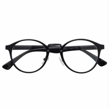 UluWatu Tiger ブラック ウェリントン型伊達メガネ クラシカル レトロ メンズ・レディース ユニセックス ファッション 復刻デザイン