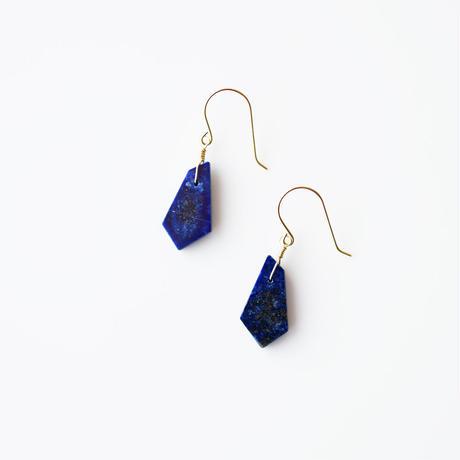 天然石ピアス/ラピスラズリ