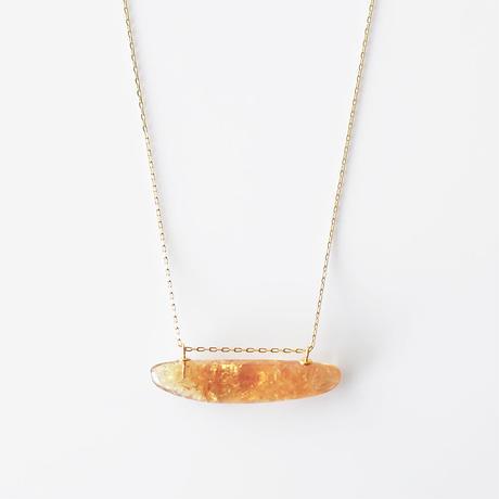 天然石ネックレス/シトリン