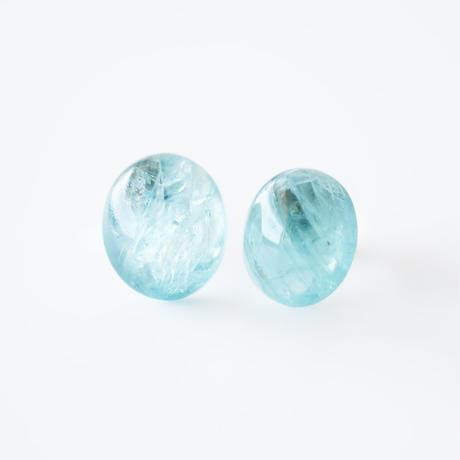 天然石ピアス/グランディディエライト