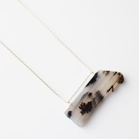 天然石ネックレス/モンタナアゲート