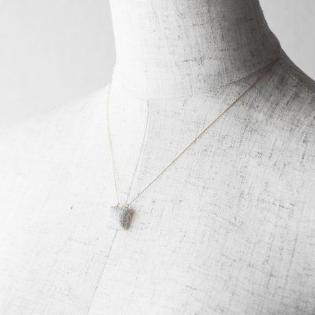 天然石ネックレス/珊瑚メノウ