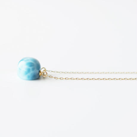 天然石ネックレス/ラリマー