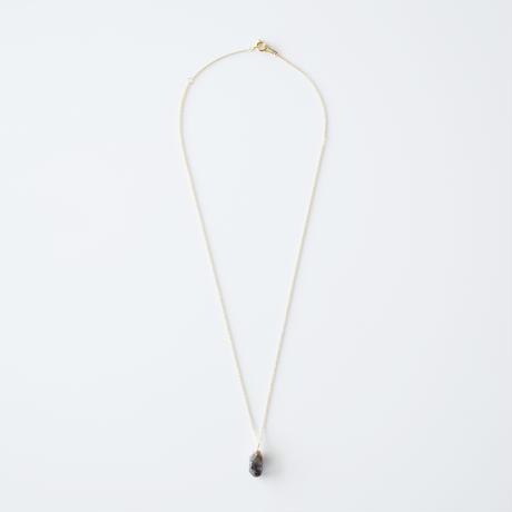 結晶ネックレス/タンザナイト