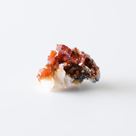 天然石/バナディナイト&バライト結晶