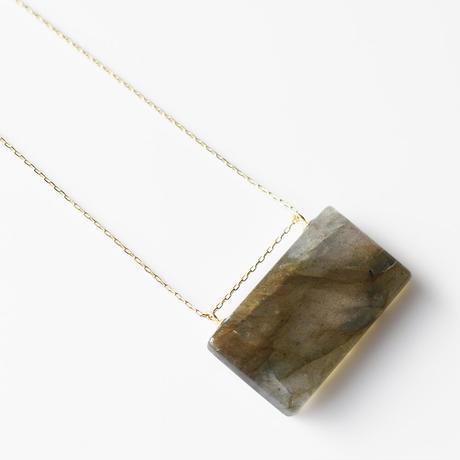 天然石ネックレス/ラブラドライト