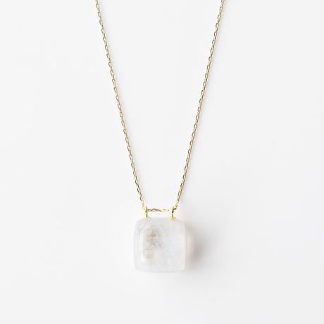 天然石ネックレス/ムーンストーン