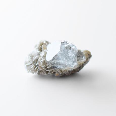 天然石/アクアマリン&マイカ結晶