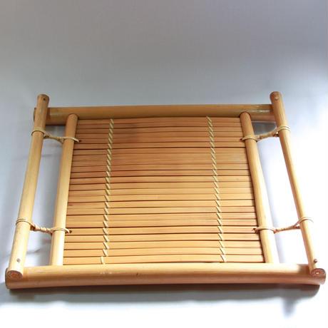 C731 竹製トレイ 縦33.1 x 横38.3 x 高さ4.5 cm
