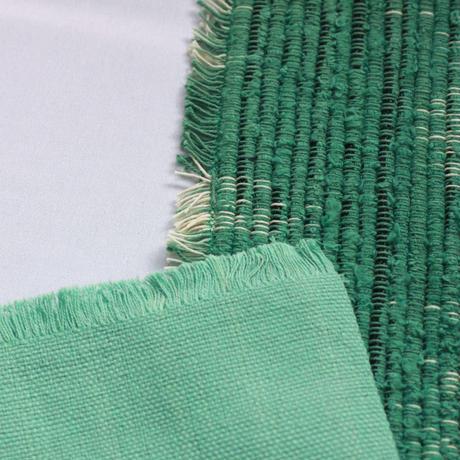 C873-876 プレイスマット+ナプキン(青竹色) 縦33.5 x 横46 cm