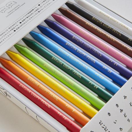 クーピーペンシル(12色)