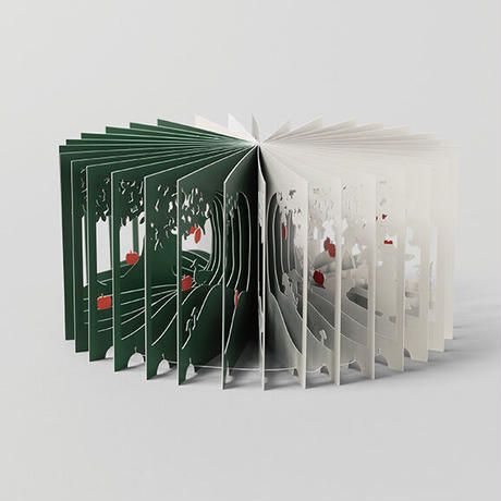 360°BOOK「 白雪姫 / SNOW WHITE」大野友資・作(青幻舎)