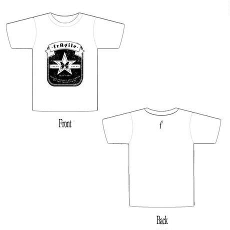 2015TOUR 「裏切り挽歌」 記念Tシャツ(白、黒)