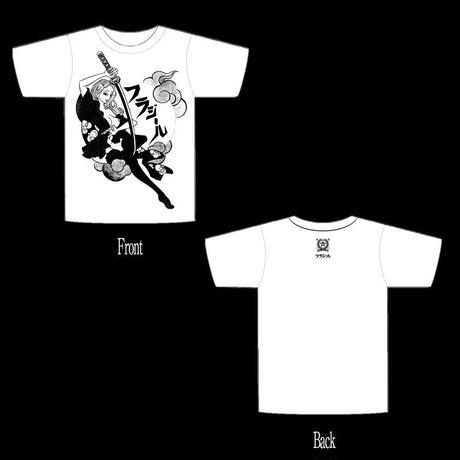 10周年記念Tシャツ「渡世人ナナちゃん」¥2.000