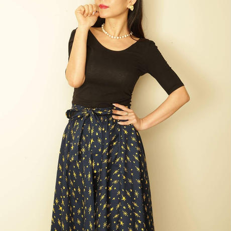 nd-1210/03AK  akiko x N_DRESS Circular skirt