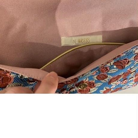 GCフラワージャガード クラッチバッグ (刺繍ピースなし)