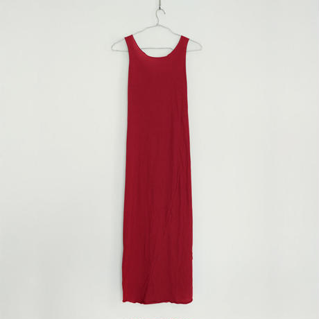 PITATTO TANKTOP ONE PIECE / ROSE RED