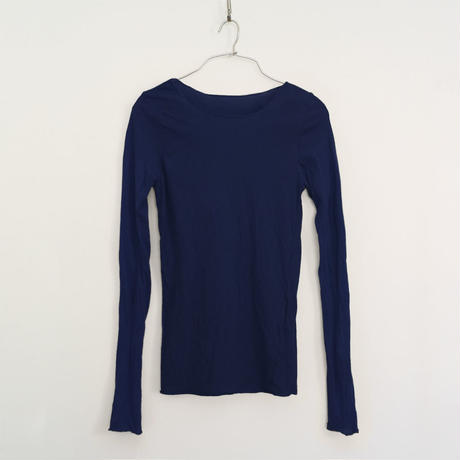PITATTO INNER T-SHIRTS / LOGWOOD NAVY
