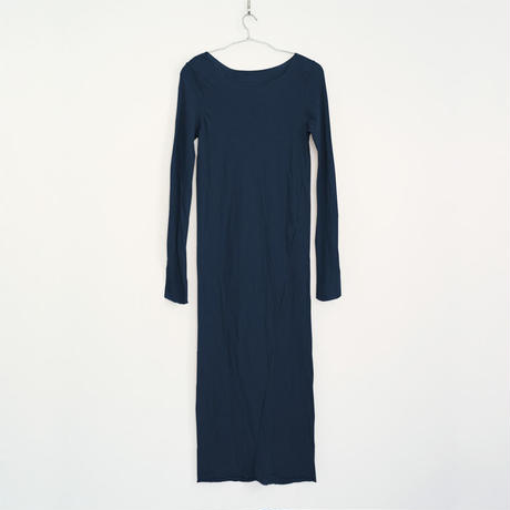 PITATTO LONG ONE-PIECE / LOGWOOD NAVY