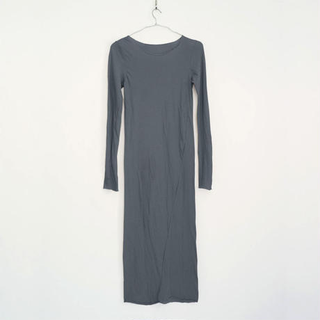 PITATTO LONG ONE-PIECE / CHARCOAL GRAY