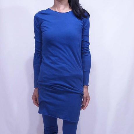 PITATTO MIDDLE LENGTH INNER T-SHIRTS / LAPIS BLUE