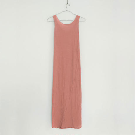 PITATTO TANK TOP ONE-PIECE / ELM PINK