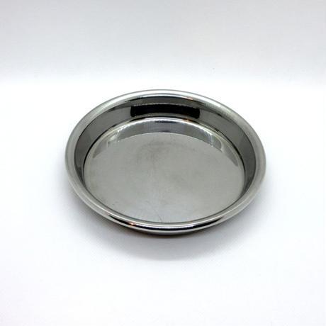 ステンレス浅型食器(M)12cm