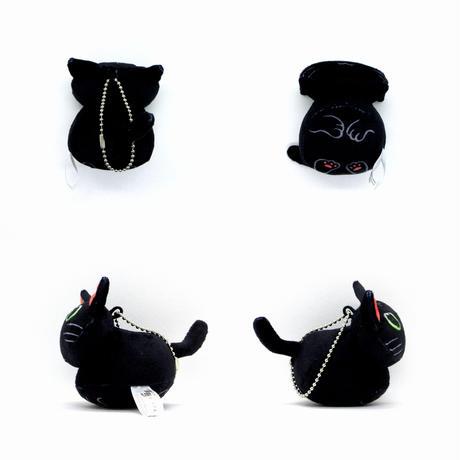 香箱座り猫ストラップ