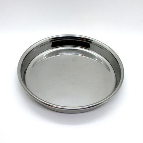 ステンレス浅型食器(L)15cm