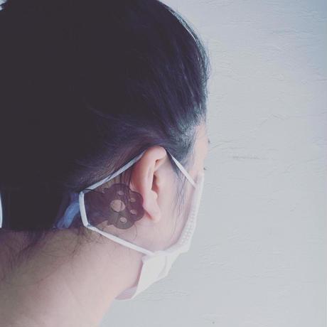 猫の手借りちゃお!!耳が痛くならない猫の手肉球マスクバンド【maskband】