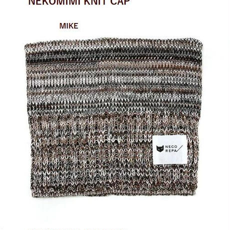 猫耳ニットキャップ NEKOMIMI KNIT CAT CAP
