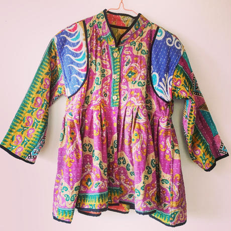KANTHA SHORT JACKET-1