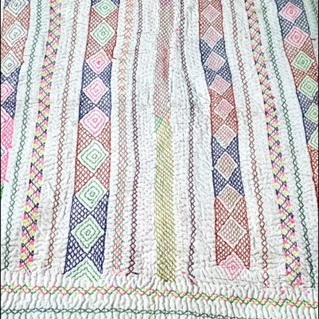 Y様ご予約分 kalbeliya traditional hand embroidery rug  D
