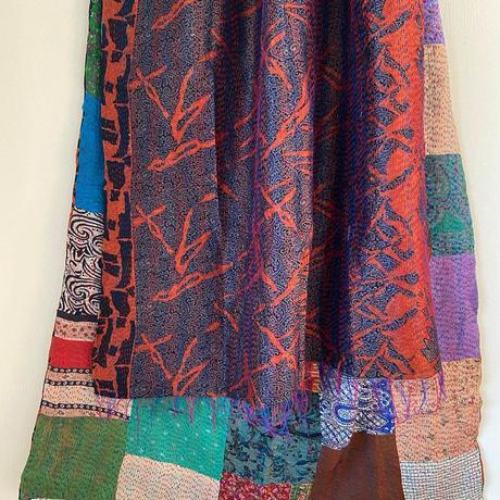 kantha silk shawl_e