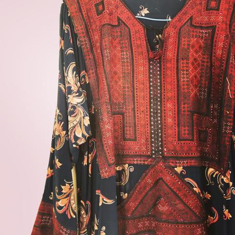 vintage  baloch dress ⅴ