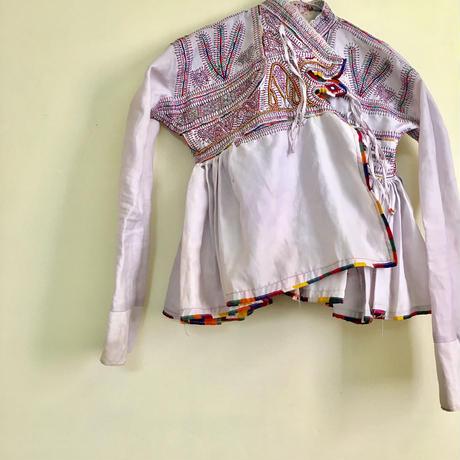 ラバリ族  ジャケット 白