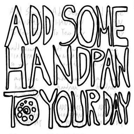 SHU   CD『ADD SOME HANDPAN TO YOUR DAY』