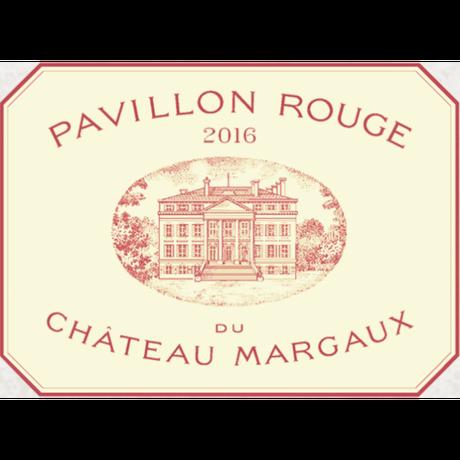 パヴィヨン・ルージュ・デュ・シャトー・マルゴー  Pavillon Rouge Du Ch Margaux 2016 (750ml)