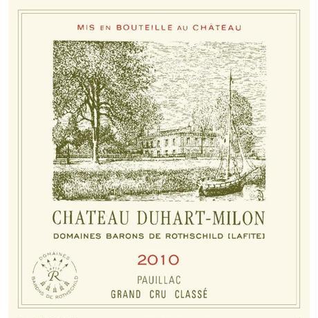 シャトー・デュアール・ミロン Ch Duhart Milon  2010 (750ml)